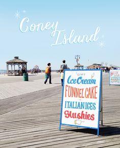 Bonjour, bonjour :) Aujourd'hui je continue de vous raconter mon aventure new-yorkaise avec cette 5ème journée consacrée à Coney…