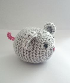 Mouse crochet pattern nursery rhyme story sack by KrigsCrochet on Etsy