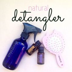 Hair detangler: cup distilled water teaspoons of fractionated coconut oil teaspoon grape seed oil drops of your choice essential oil (lavender, citrus bliss as examples - 5 drops each). Mix in a spray bottle and use. Doterra Citrus Bliss, Coconut Oil Uses, Fractionated Coconut Oil, Essential Oil Uses, Doterra Essential Oils, Doterra Blends, Tips Belleza, Distilled Water, Seed Oil