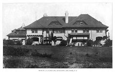 The Arthur B. Claflin estate designed by Grosvenor Atterbury c. 1898.