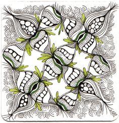 zentangle by shelley bauch