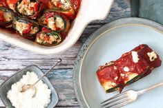 Courgette cannelloni – SKINNY SIX