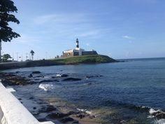 Salvador - Forte de Santo Antonio e o Farol da Barra.
