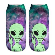 Friendly Alien Women's Socks