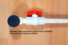 SHOWER for van car RV. off grid tiny home image 7 Off Grid, Bubble, Van Rv Conversion, Ford Transit Connect Camper, Tiny Camper, Camper Life, Camper Van, Solar Shower, Truck Bed Camping