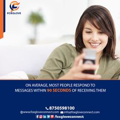 Foxglove Connect is the Bulk SMS Company in India delivering marketing solutions to clients. Did You Know, Digital Marketing, Connection, Messages, Facebook, Twitter, Amazing, Instagram