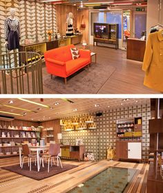 Orla Kiely Shops -  Covent Garden, London is my favourite !  Others listed here, possibly in your area.  Just check out her fabulous home interiors - homeware, bedlinen, storage and furniture !