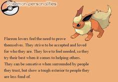 pokemon personalities - Google Search  My favorite of the eeveelutions!!