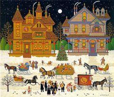 Victorian Christmas ~ Charles Wysocki