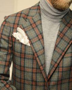 Sprezzatura-Eleganza | toquote: Wiwt. Jacket by @eidosnapoli,...