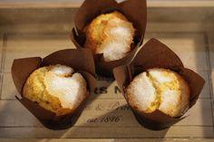 #Muffins de Naranja con semillas de amapola