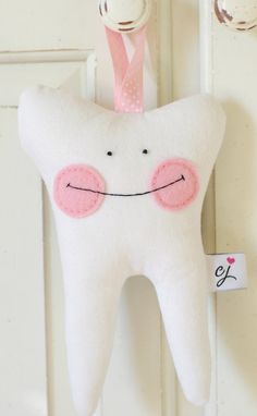 Girl's Tooth Fairy Pillow with Pocket Sugar by chloejanehandmade, $20.00