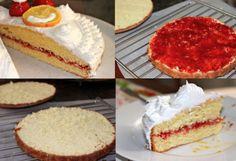 Birthday Cake, Citron & coulis de fraise