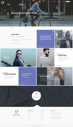 Circles 5 is a minimal and perfect grid design PSD template for multipurpose cre. Website Design Layout, Web Layout, Layout Design, Blog Layout, Sites Layout, Grid Layouts, Grid Website, News Website, Website Ideas