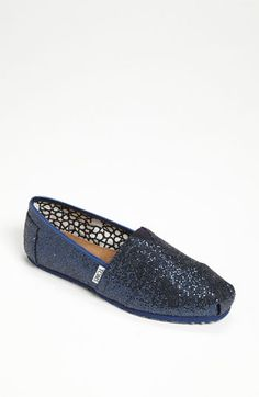 YES. TOMS 'Classic' Glitter Slip-On (Women) available at #Nordstrom