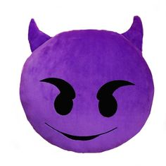Devil Emoji Pillow