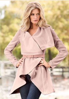 Venus.com ADORE this pink coat!