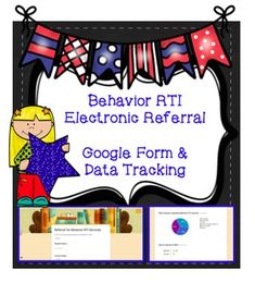 This is a Behavior RTI Referral form created using Google forms and can be copied to your Google Drive. Using this form, teachers can complete the questionnaire online and make a BRTI referral electronically. You will receive a notification every time a student is recommended. Not only will you be able to receive student referrals electronically, but also collecting data for your BRTI program will be made easy! *Organize and streamline your BRTI referral process! .