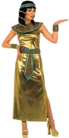 Devenez Cléopâtre, mais en robe dorée !