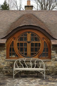 """oldfellingaxe:""""This Hobbit house belongs to a lifelong fan of author J.R.R. Tolkien who wanted a worthy — and private — repository for the rare books and Tolkien-inspired memorabilia he has collected.."""""""