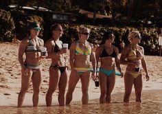 Michelle Kinney, Stacie Tovar, Lindsey Valenzuela, Miranda Oldroyd, Molly Biss