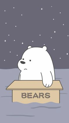 ice bear we bare bears blue iphone wallpaper Cute Panda Wallpaper, Cartoon Wallpaper Iphone, Bear Wallpaper, Cute Disney Wallpaper, Kawaii Wallpaper, Cute Wallpaper Backgrounds, Cute Cartoon Wallpapers, Galaxy Wallpaper, Ice Bear We Bare Bears
