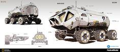 MARS - rover, Oscar Cafaro on ArtStation at https://www.artstation.com/artwork/KvoDR