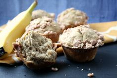 Banana Muffins || Banana Streusel Muffins are easy and tasty any time of day!