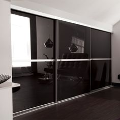 Minimalist Loft Spacepro Sliding Wardrobes. All doors are available in standard sizes and made to measure in custom sizes to suit your opening.  http://www.slidingwardrobesuk.co.uk/acatalog/minimalist-loft.html