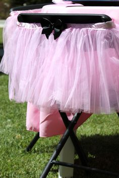 Girly tutu chairbacks
