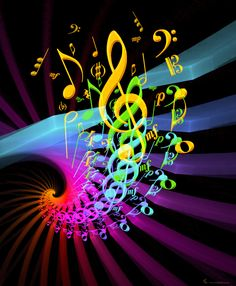 music pure fractal flame by Cory Ench © 2007