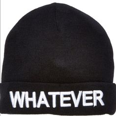 Steve Madden conversational beanie New with tags Steve Madden Accessories Hats