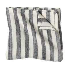 Striped Blanket (Black) ❤ liked on Polyvore featuring home, bed & bath, bedding, blankets, black stripe bedding, stripe blanket, striped bedding, striped blanket and black blanket