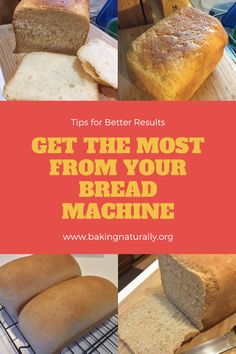 Here are some tips and pointers on how to adjust your bread recipes for your particular bread machine, to make sure you produce the best-quality loaves every time. #bakingnaturally #baking #breads #comfortfood #homemade