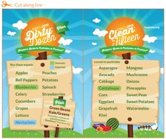 2012 Dirty Dozen & Clean Fifteen Recommendations