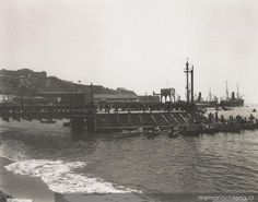 Muelle Prat, ca. 1900 South America, Paris Skyline, Travel, Boat Dock, Author, Viajes, Trips, Traveling, Tourism