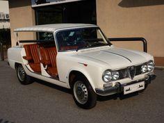 1965 Alfa Romeo Giulia was converted for Alfa Romeo by Colli