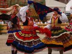 Folk costumes from Lublin, Poland