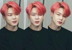 Jimin is a teacher at Bangtan High. Not like any normal high school b… Bts Jimin, Park Ji Min, Namjoon, Hoseok, Taehyung, Busan, Foto Bts, Jikook, Jimin Pink Hair