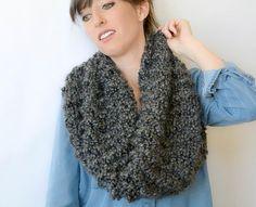 Beginner Eiffel Knit Cowl