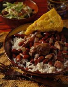 Worlds Best Red Beans And Rice - similar to our Colorado recipe we loved