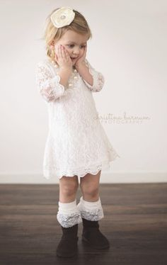 Girls lace dress flower girls dress girls by PrinzzezBoutique, $33.95