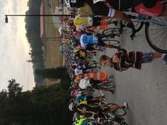 Start Line at 3 GAP 2012, Dahlonega, GA..