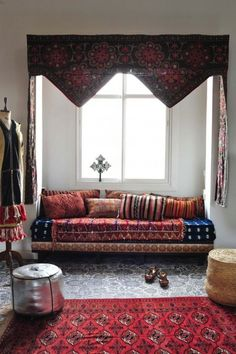 Interior Infatuation: Marrakech Inspired Bohemian Living Room #johnnywas