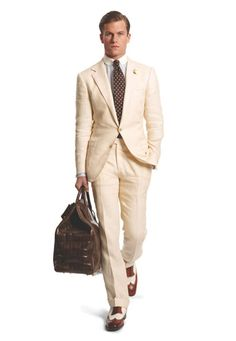 How about going colonial style? - Ralph Lauren Purple Label S/S 12
