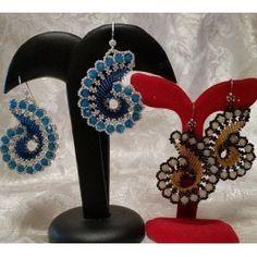Tutorials, pattern earrings NAUTILUS - Hobbybay