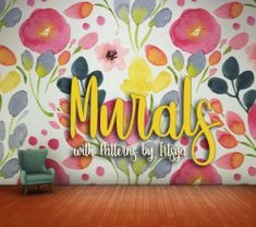 Miss Ruby Bird — Floral Murals Ok, I named these murals because I. Maxis, Sims 4 Clutter, 4 Wallpaper, Sims 4 Cc Furniture, Sims 4 Build, Sims 4 Houses, Sims 4 Mods, Sims 4 Custom Content, Sims Cc