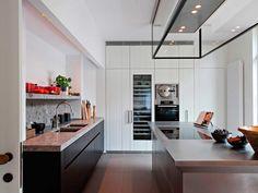 Obumex   Present-day Kitchen   Stainless Stove   Kitchen Island   Design