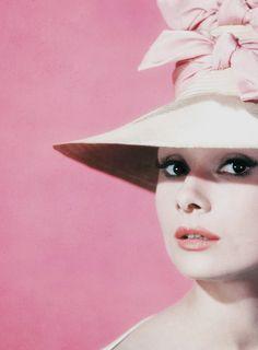 Audrey Hepburn photographed by Bud Fraker for Funny Face, 1957