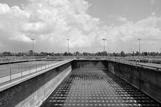 Foto 2009;  architetto G. Braghieri;  depuratore di Milano-Nosedo;  anno 2000-03